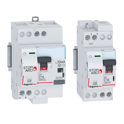 DX³ Stop Arc: increased protection against fires of electrical origin