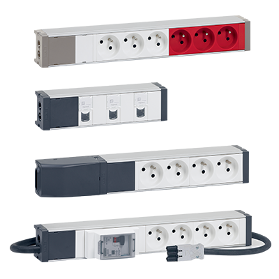 Multiple power supplies in complete safety