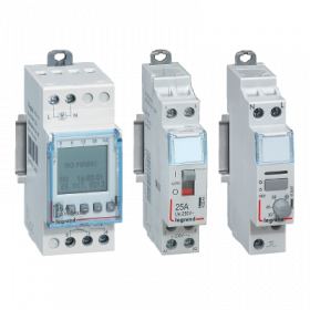 DIN rail mounting control & signalling devices